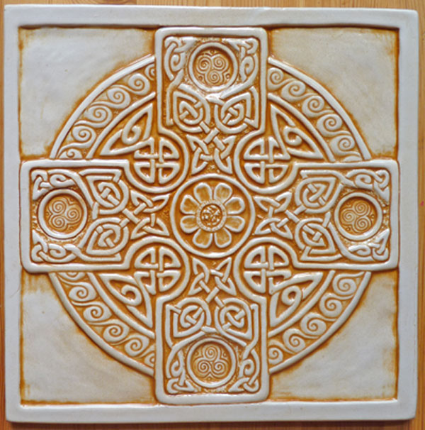 celtic cross tile