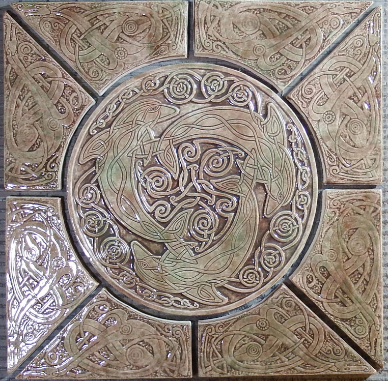 Celtic Floor Tiles - Rebellions