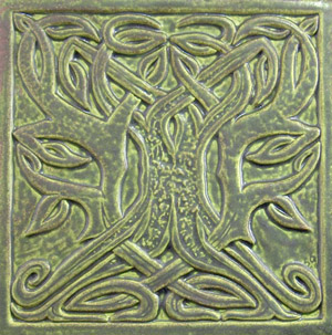 celtic tree tile