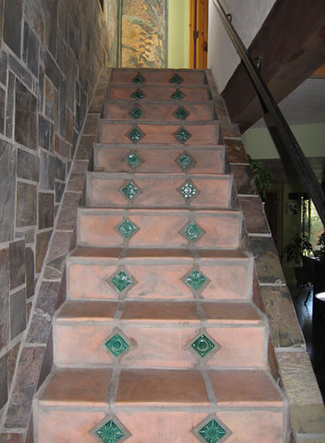 Bon Tile Installations. Tile Stair Risers Pictures How To Install ...