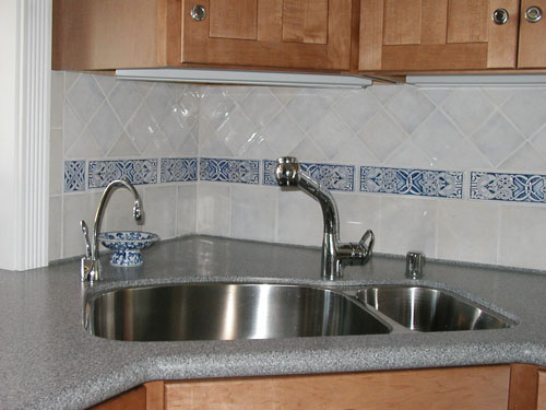 Decorative Ceramic Kitchen Tile